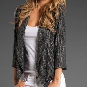 Parker Silk Beaded Jacket/Blazer